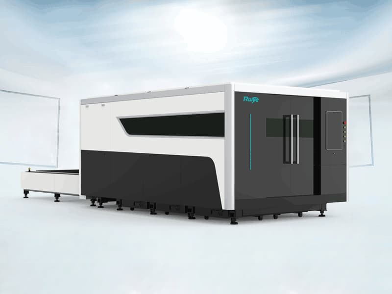 P Model Fiber Laser Cutting Machine with Exchangeable and Enclosure