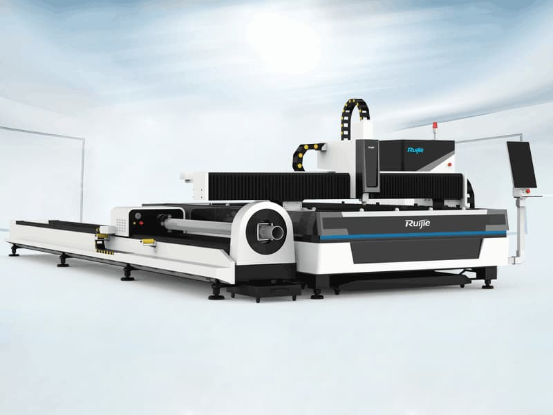 HT Model Plate and Tube Integrated Fiber Laser Cutting Machine